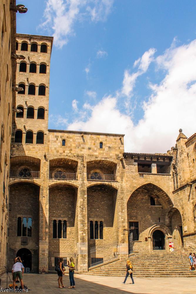 Palatul regal medieval, Plaça del Rei, Barcelona