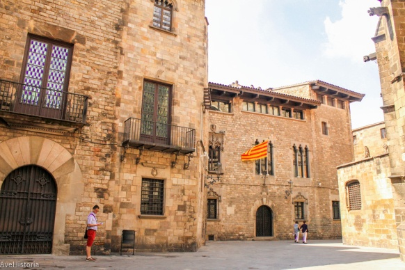 Cases dels Canonges reșsedința președintelui Generalitate, Barcelona