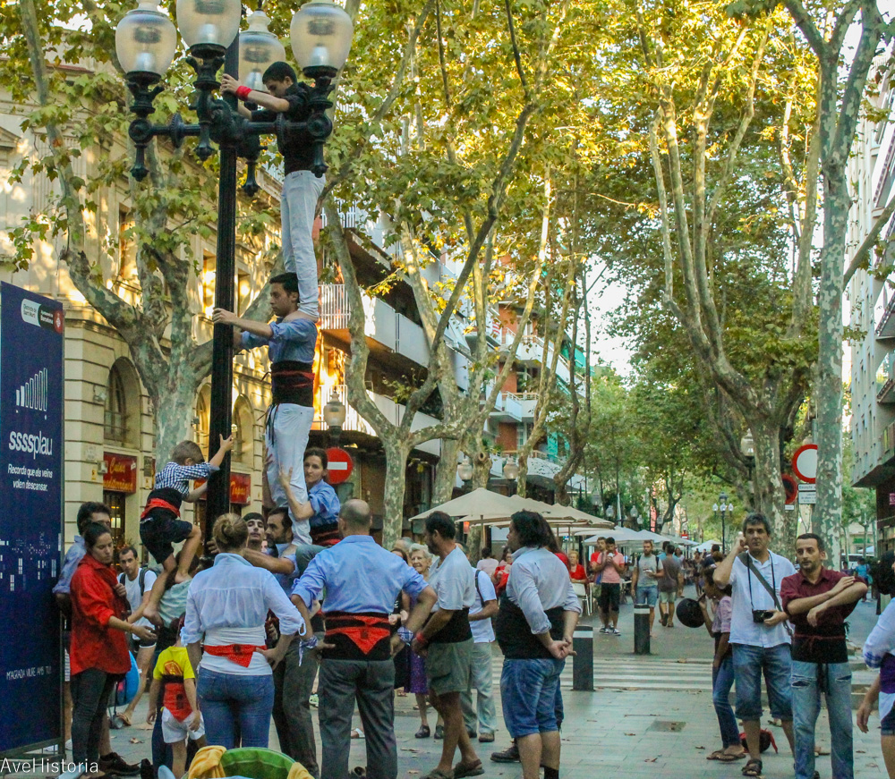 Castells, Barcelona