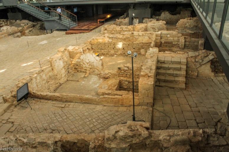 ruinele caelor distruse in urma asediului din 1714, Barcelona