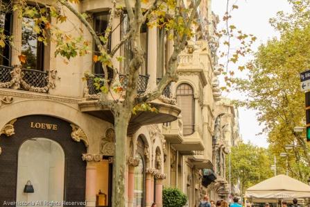 Case în stil Modernista in cartierul Eixample, Barcelona