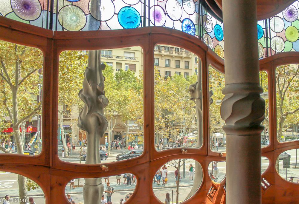 Casa Batllo, interior, Barcelona