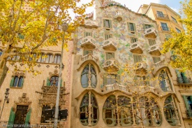 Casa Batllo, arhitect Antoni Gaudi