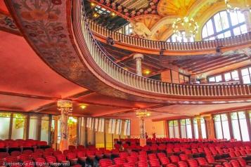 Palatul de muzica catalana, sala de concerte, Barcelona