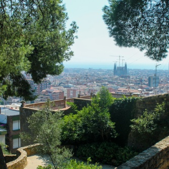 Park Guell panorama