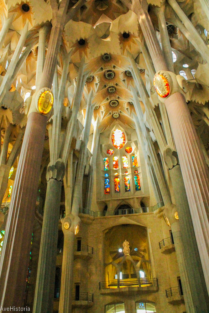 Sagrada Familia, interior