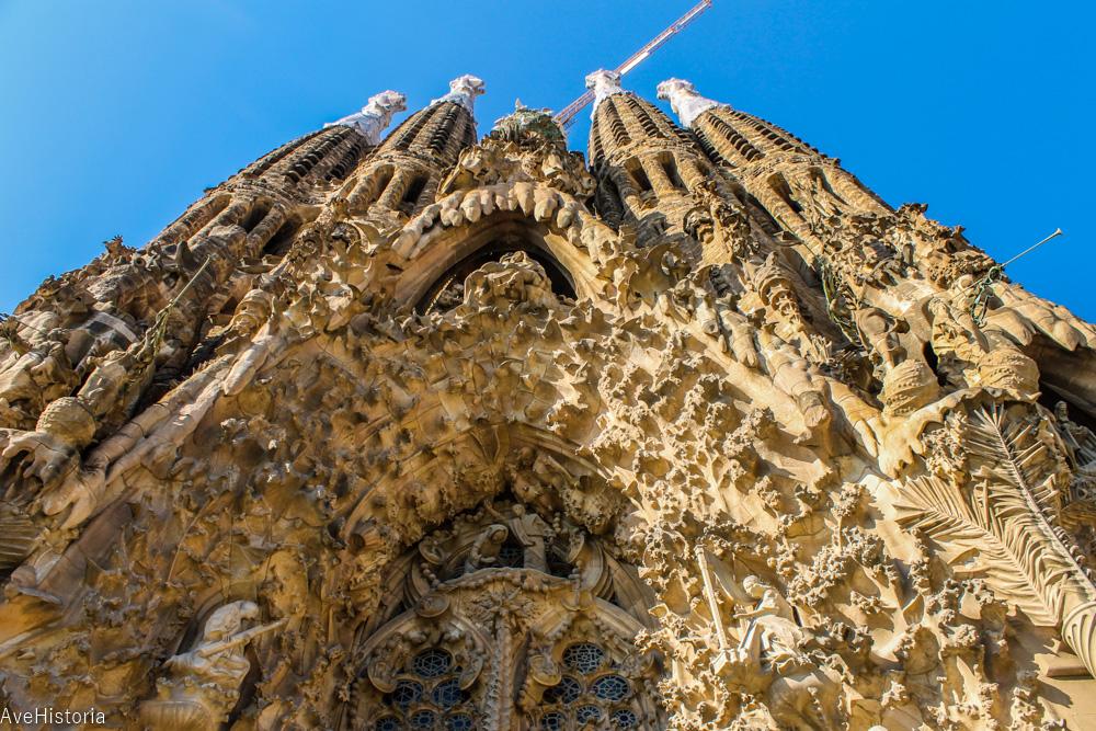 Fatada Nasterii, Sagrada Familia, Barcelona