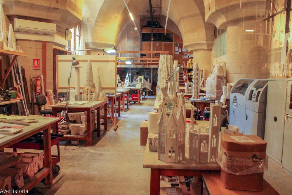 Atelierul arhitectilor Sagradei Familia