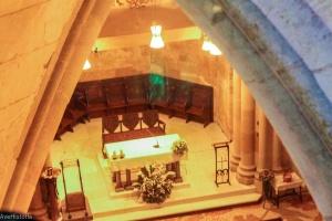 Cripta unde se afla mormantul lui Gaudi, Sagrada Familia