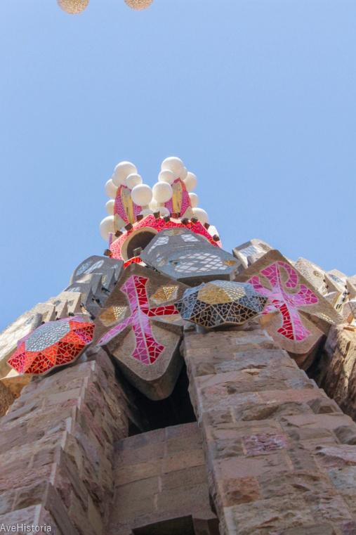 Vedere din turnul Sagradei Familia