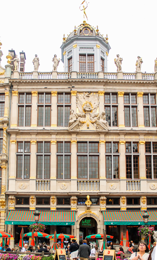 Maison des Boulangers (Casa Brutarilor), Grand Place, Bruxelles