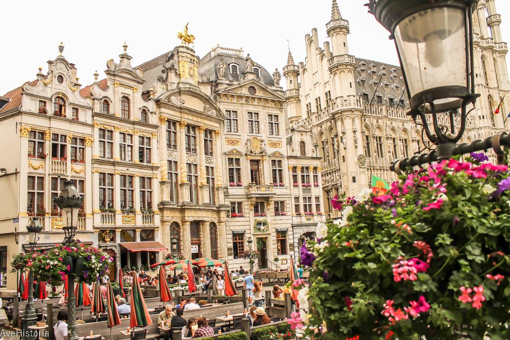 Grand Place, Bruxelles, maison des brasseurs