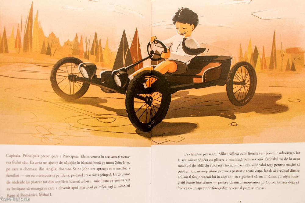 Carte pentru copii, regele Mihai