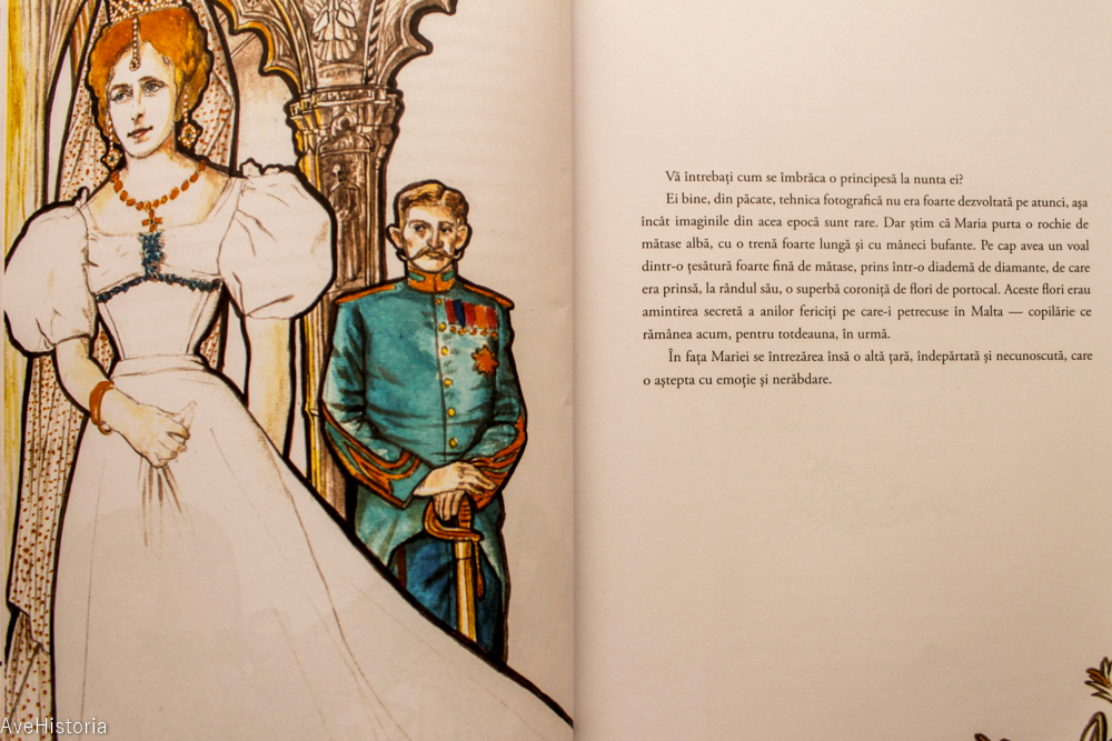 Carte pentru copii, regina Maria
