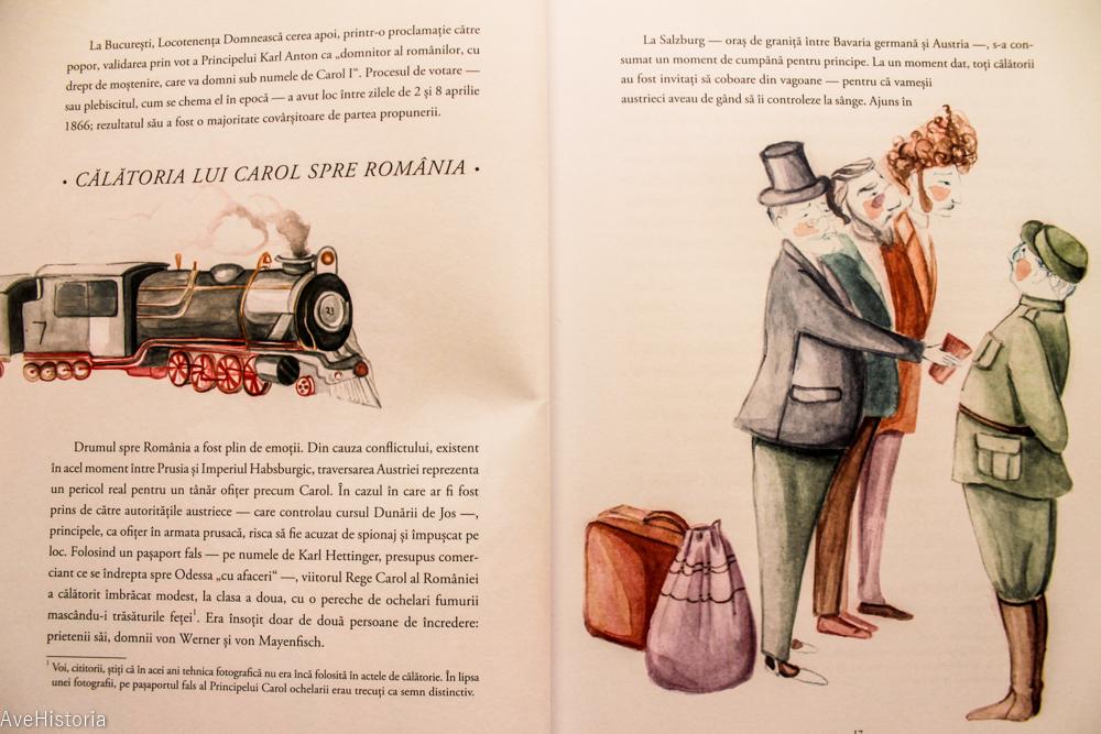 Carte pentru copii, regele Carol I, Romani celebri, Editura Gama