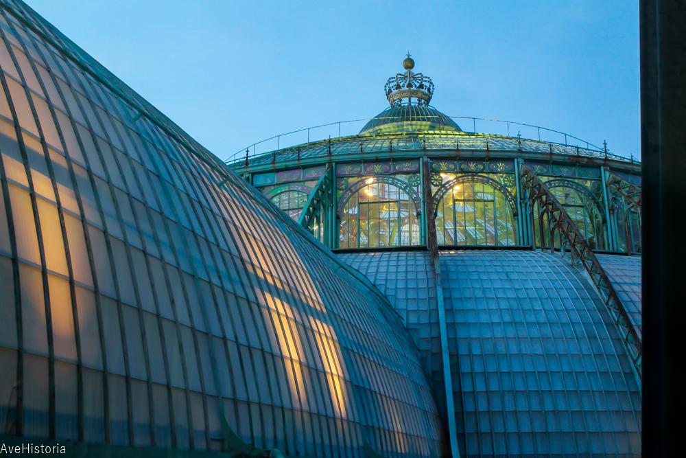 Serele Regale,nocturna, Laeken, Bruxelles