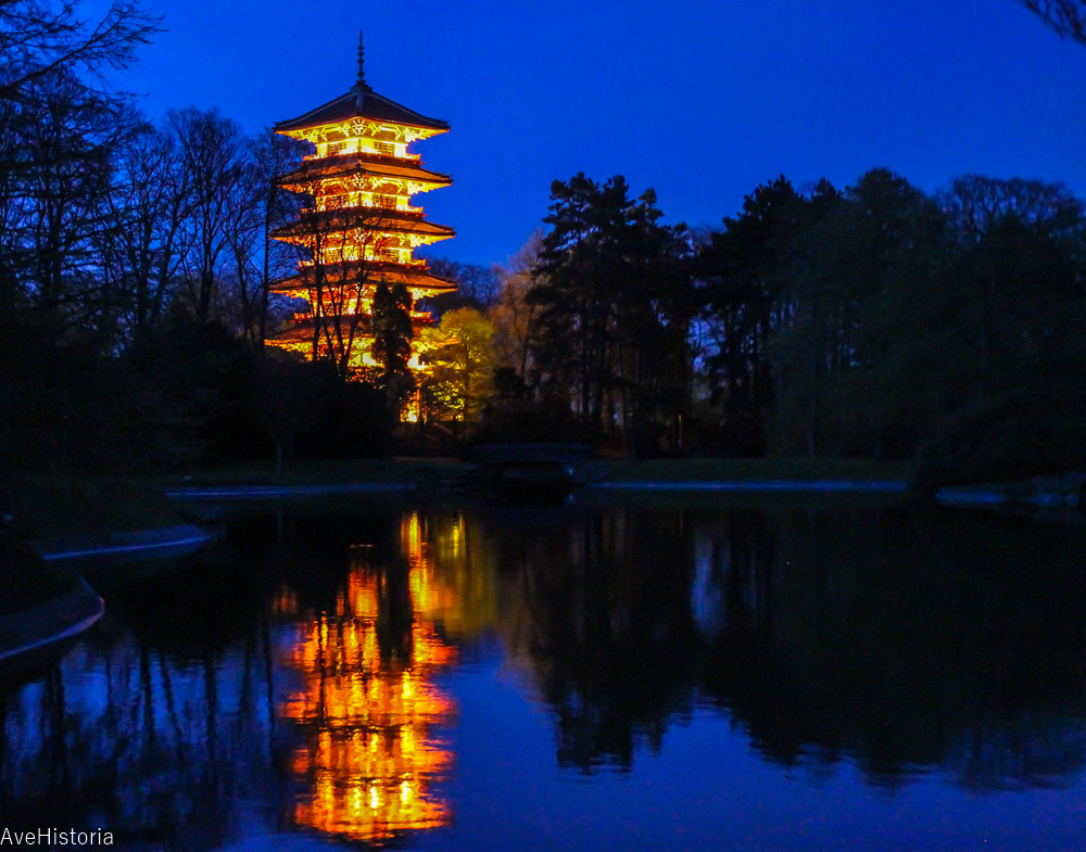Turnul Japonez, Laeken