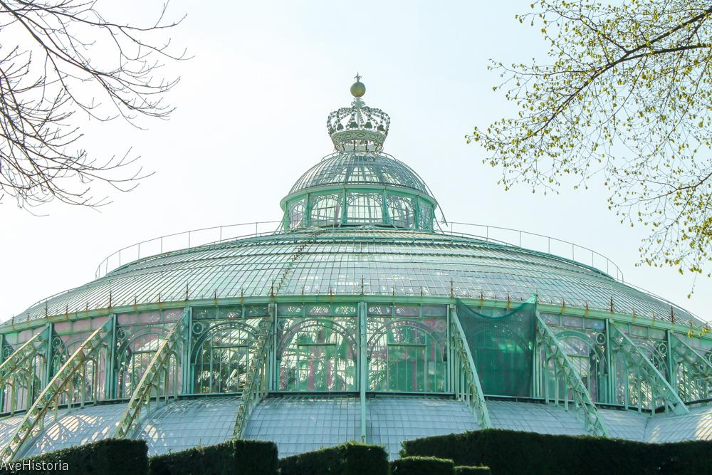 Gradina de iarna, Laeken