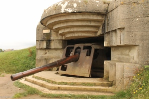 German Battery, Longues-sur-Mer, France