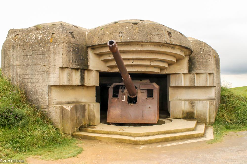 German Battery, Longues-sur-Mer, France