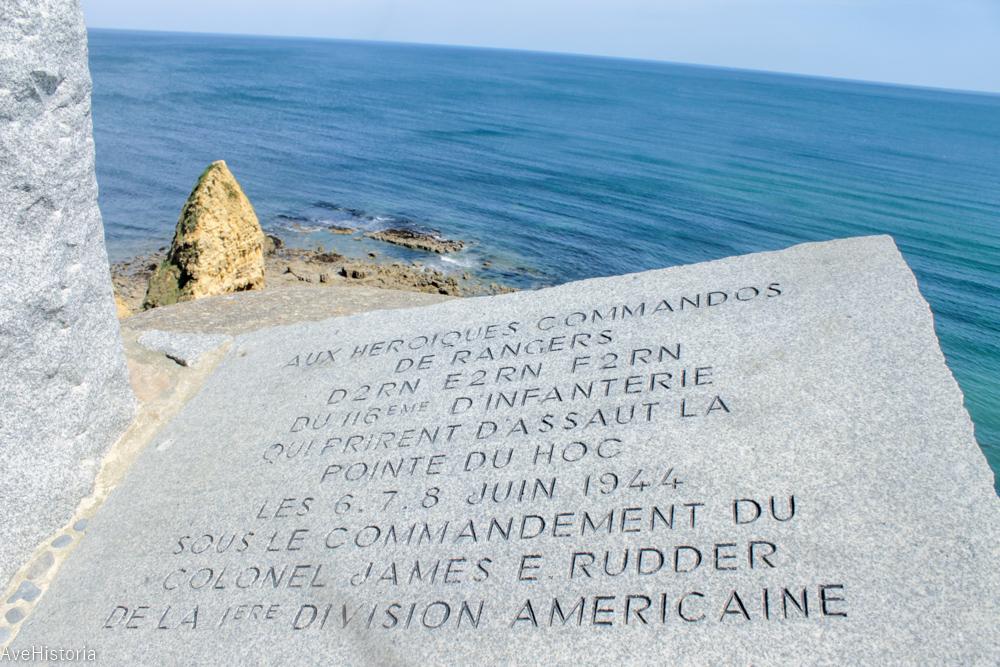 Pointe-du Hoc, Franta