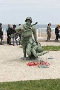 Omaha Beach, Vierville-sur Mer, Franta