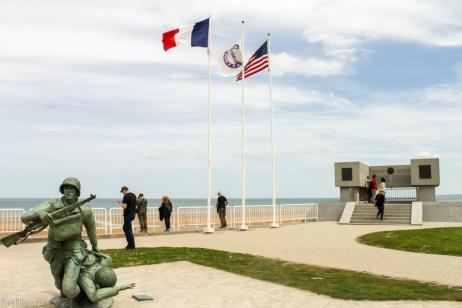 Omaha Beach, MOnumentul Regimentului 116, Vierville-sur Mer, Franta