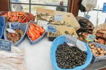 Port-en-Bessin, fish market