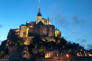 Muntele Saint Michel, Franta