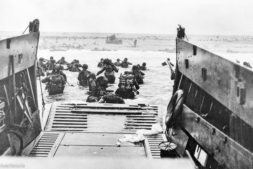 Taxis to Hell – and Back – Into the Jaws of Death, Omaha Beach