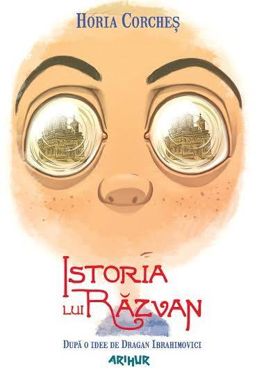 Istoria lui Razvan, de Horia Coarches, coperta