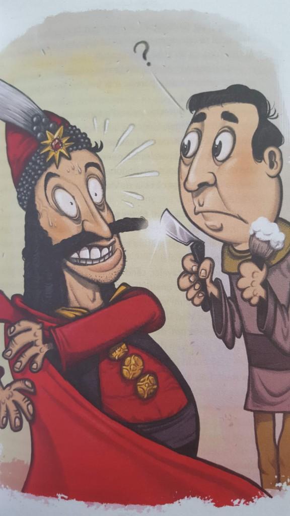 Istoria lui Razvan, de Horia Coarches, ilustratie de ALexandru Ciubotariu