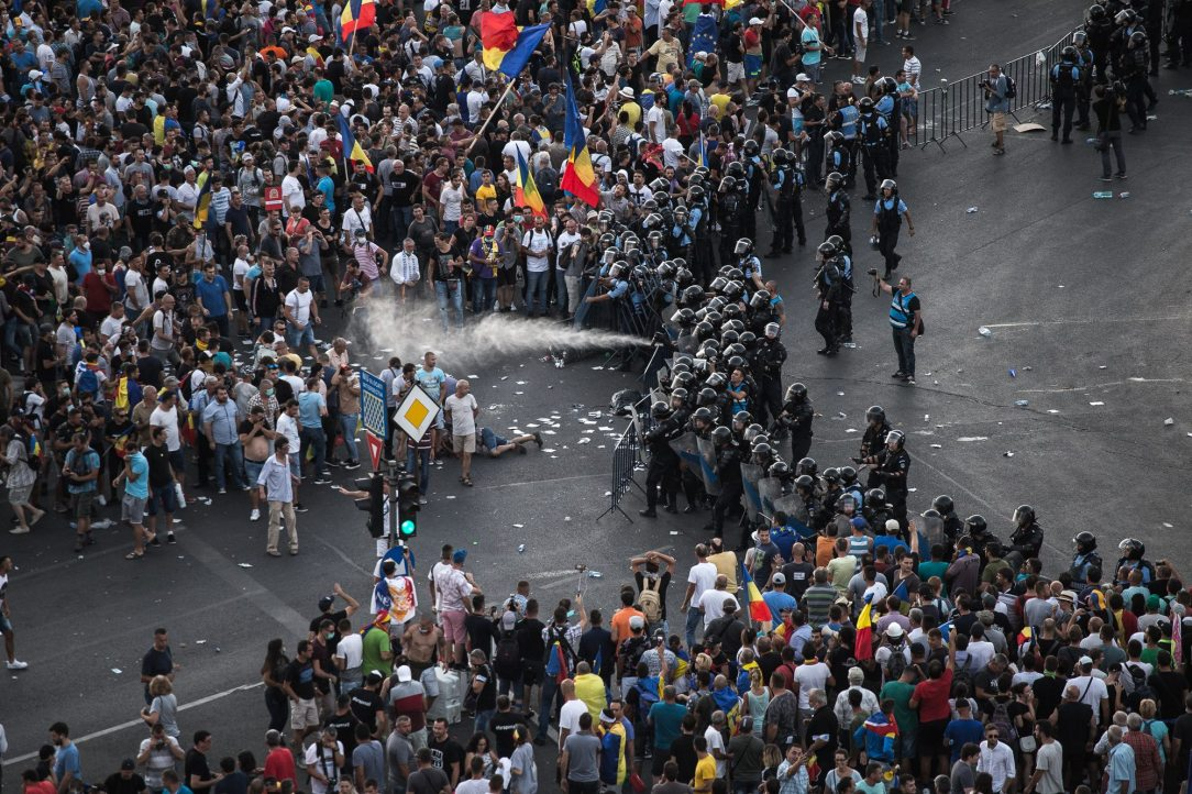 Protest diaspora 10 august 2018, Bucuresti, Piata victoriei