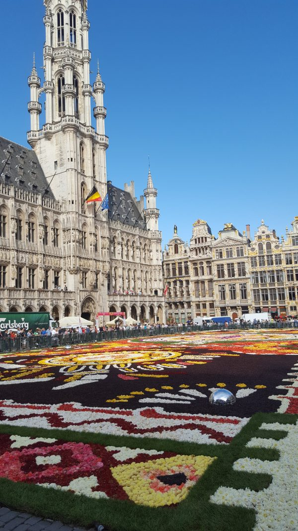 Covorul de flori, Bruxelles, 2018