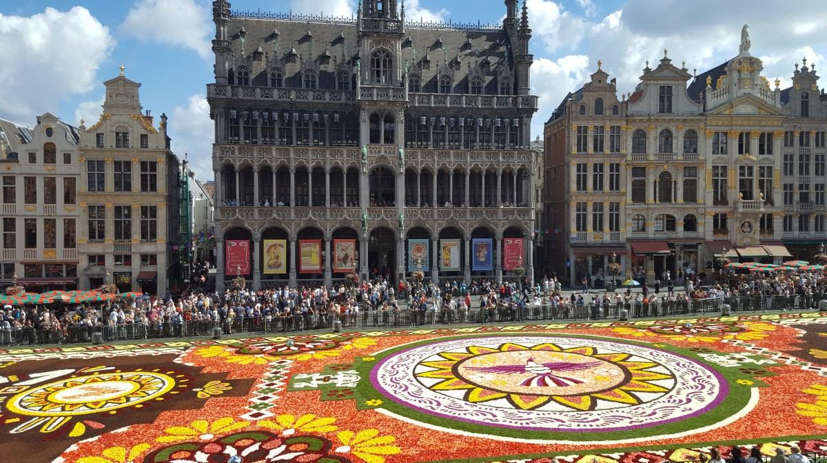 Covorul de flori din Bruxelles 2018
