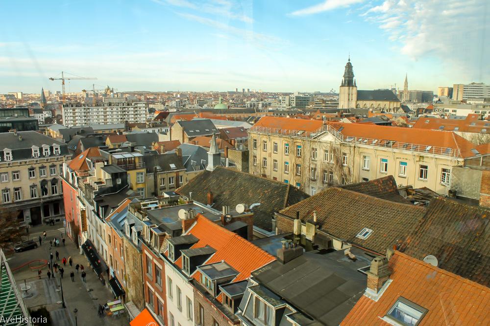Place Poelaert, panorama, Bruxelles