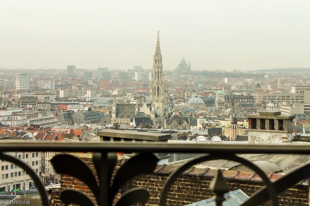 Bruxelles-ul vazut de la restaurantul MIM