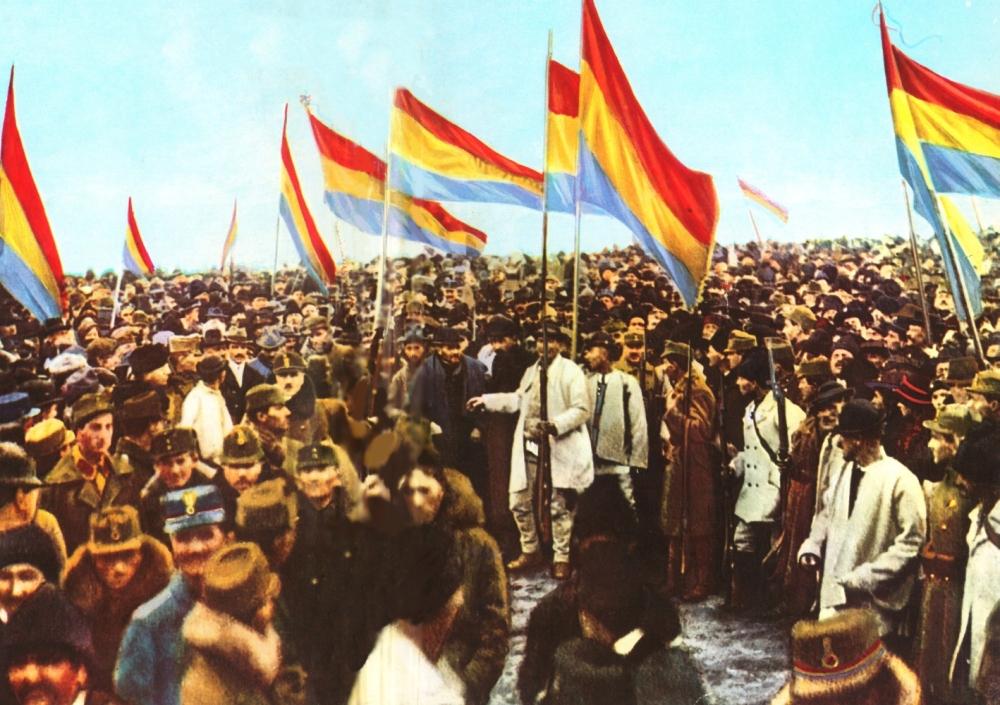 Marea Adunare Nationala de la Alba Iulia 1 decembrie 1918