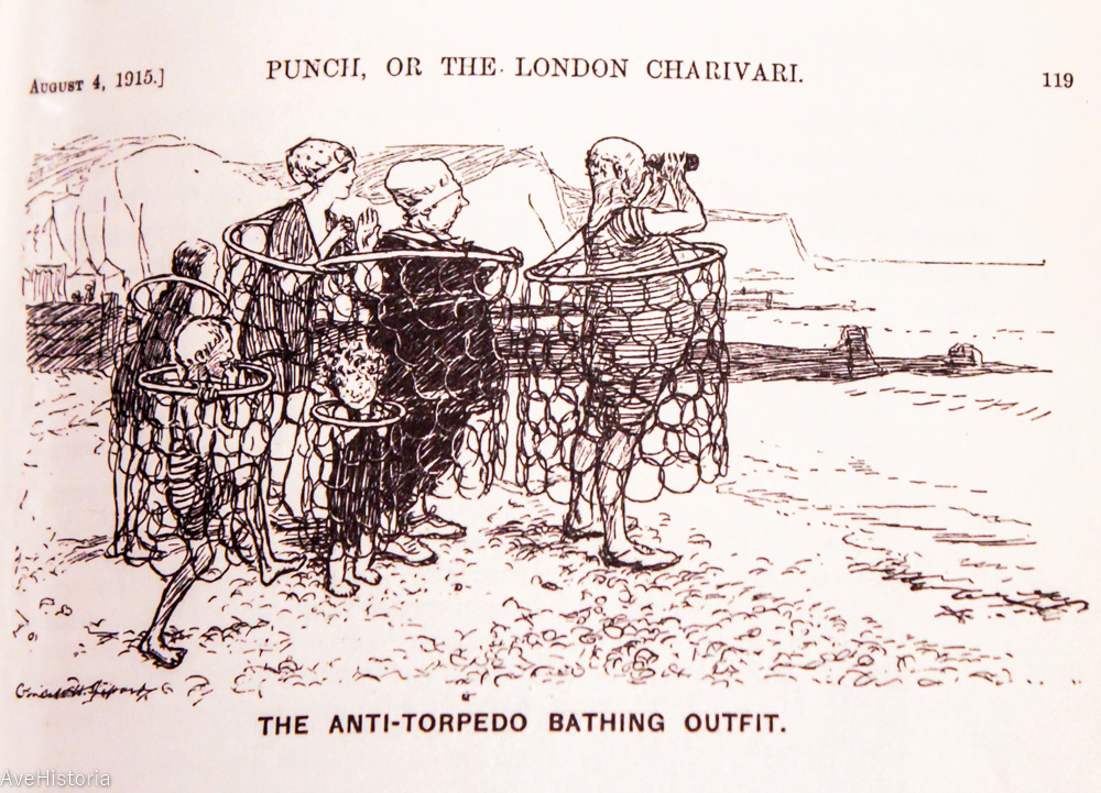 Caricatura din Primul Razboi Mondial
