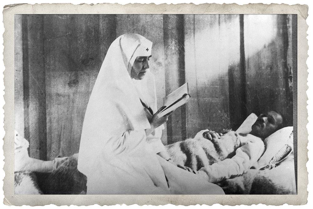 Regina Maria in Primul razboi Mondial