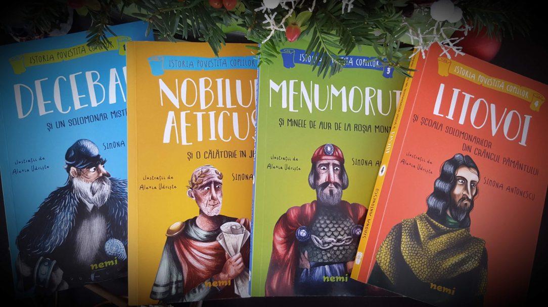 Istoria povestita copiilor, Simona Antonescu