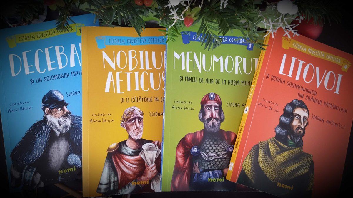 Istoria povestita copiilor, de Simona Antonescu