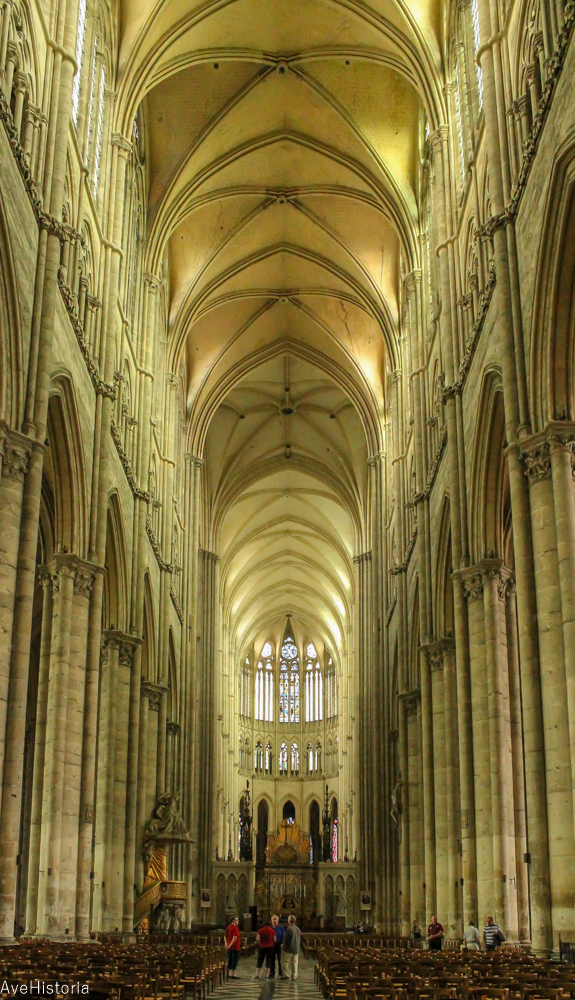 Catedrala din Amiens-nava