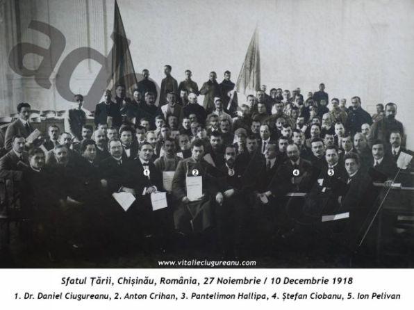 deputații din Sfatul Tării din Basarabia
