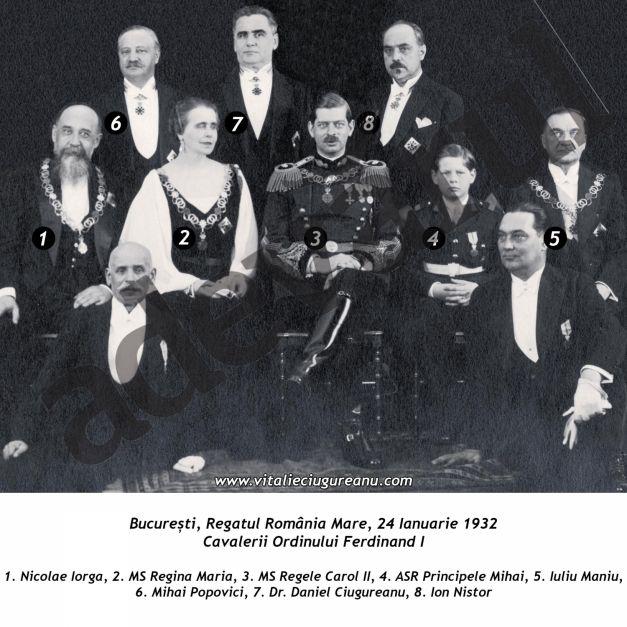 Cavalerii ordinului Ferdinand I, 1932