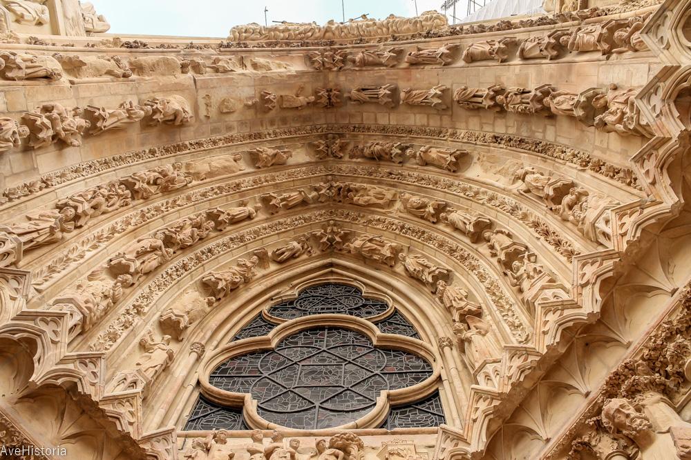 Portalul catedralei din Reims