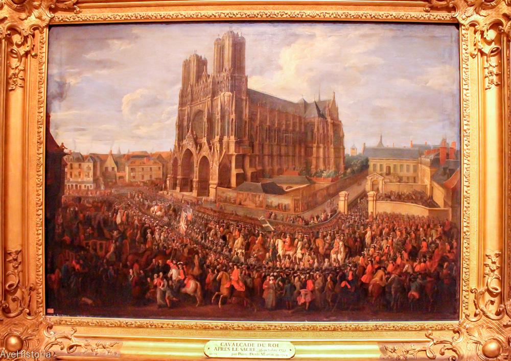 Pierre Denis Martin La Cavalcade le lendemain de Sacre à Reims, 26 octobre 1722
