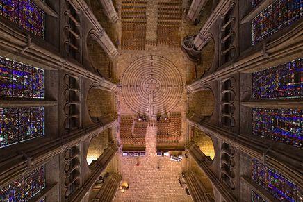 Catedrala din Chartres, labirintul
