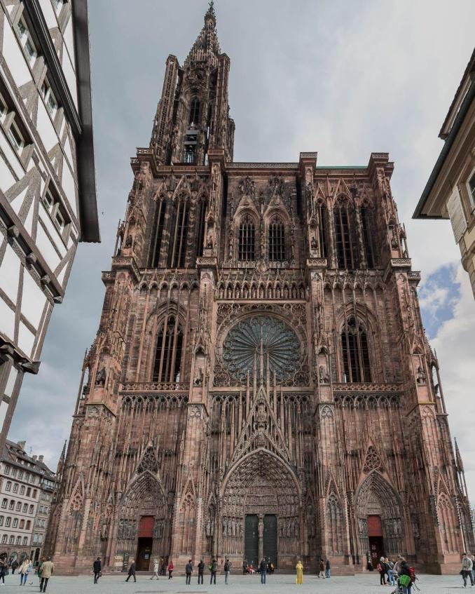 Catedrala Notre-Dame Strasbourg