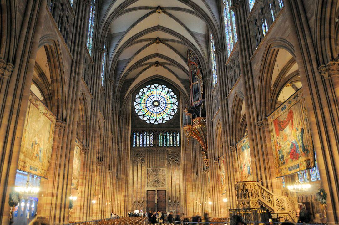 Catedrala din Strasbourg, interior